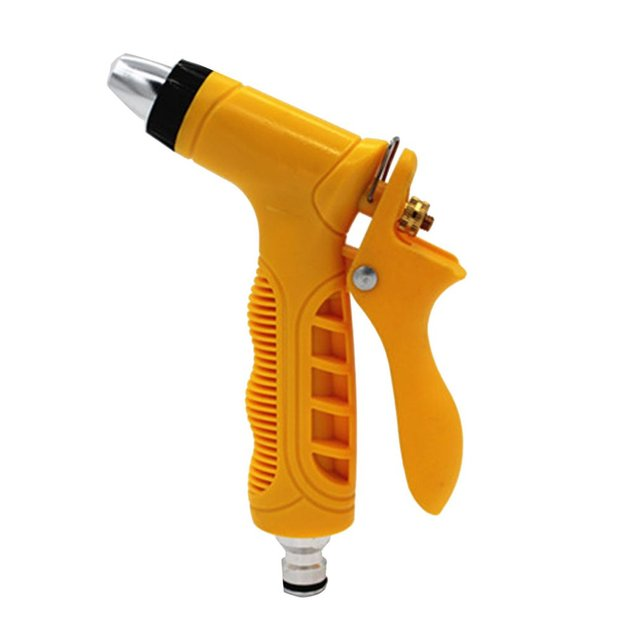 Superb High Pressure Garden Hose Nozzle Water Spray Gun Set Hand Sprayer With 4  Fittings For Home