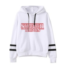 Stranger Things Hoodie Woman Hooded Hoodies Kpop  Sweatshirts Kawaii Korean Oversized Harajuku Hip Hop Hoodie Sweatshirt Men