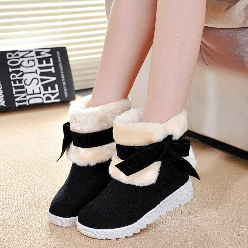 Aliexpress.com : Buy Women boots Winter platform shoes snow boots ...