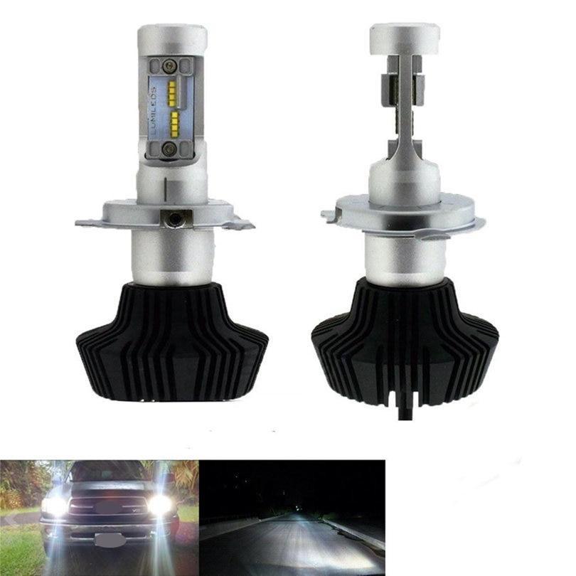 2X 160W 16000LM H4 LED Headlight Kit High/Low Beam Bulbs 6000K DC 9-36V auto led headlight lamp car for Philips 1pair car h1 60w eti 2s car led headlight kit 8000lm hid 6000k white high or low beam bulbs
