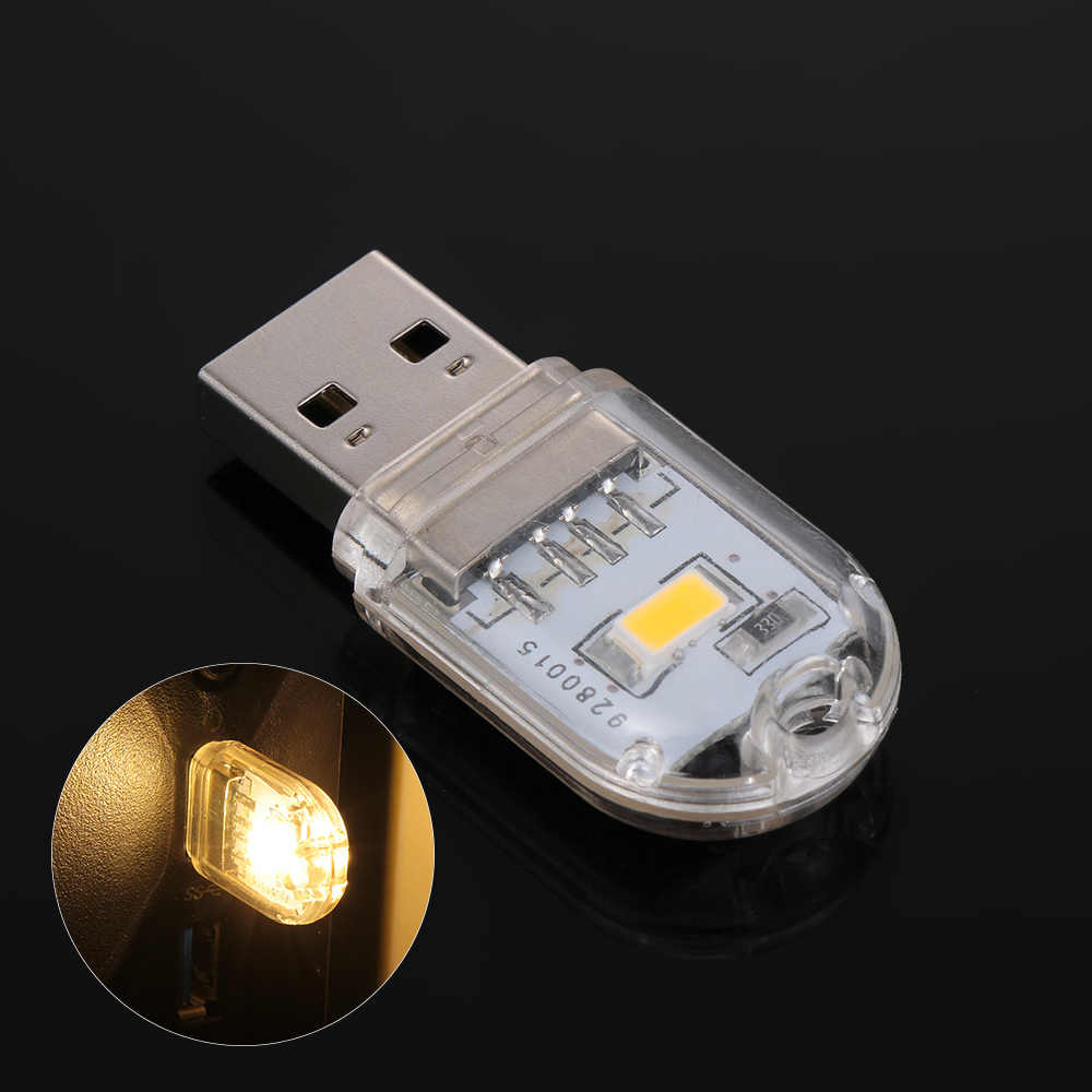 1PC Mini USB Light LED Night Light Keychain Reading Led Lamp Book Bulb For Notebook Power Bank Computer Laptop Camping Bulb
