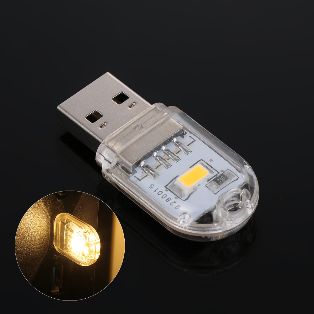 1Pcs Mini USB Light LED Night Light Keychain Reading Led Lamp Book Bulb For Notebook Power Bank Computer Laptop Camping Bulb Hot