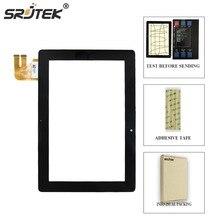 Srjtek для ASUS Transformer Pad TF300T TF300 TF300TG G01 версия черный дигитайзер Сенсорный экран стекло 69.10I21. G01