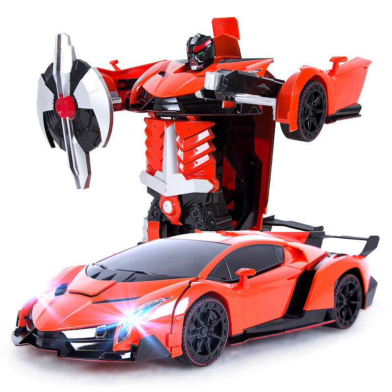 1:22 Free Shipping Luxury Sports Car Models Deformation Robot Transformation Remote Control RC Car Toys for Kids Christmas Gift массажер для лица gezatone m1605
