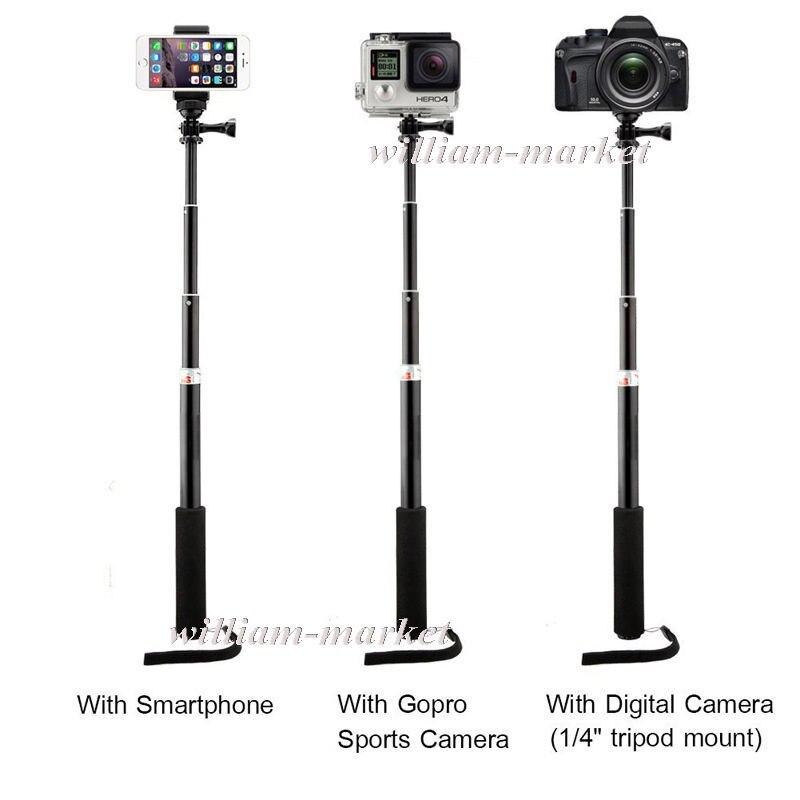 samsung sony lg gopro camera self stick iphone