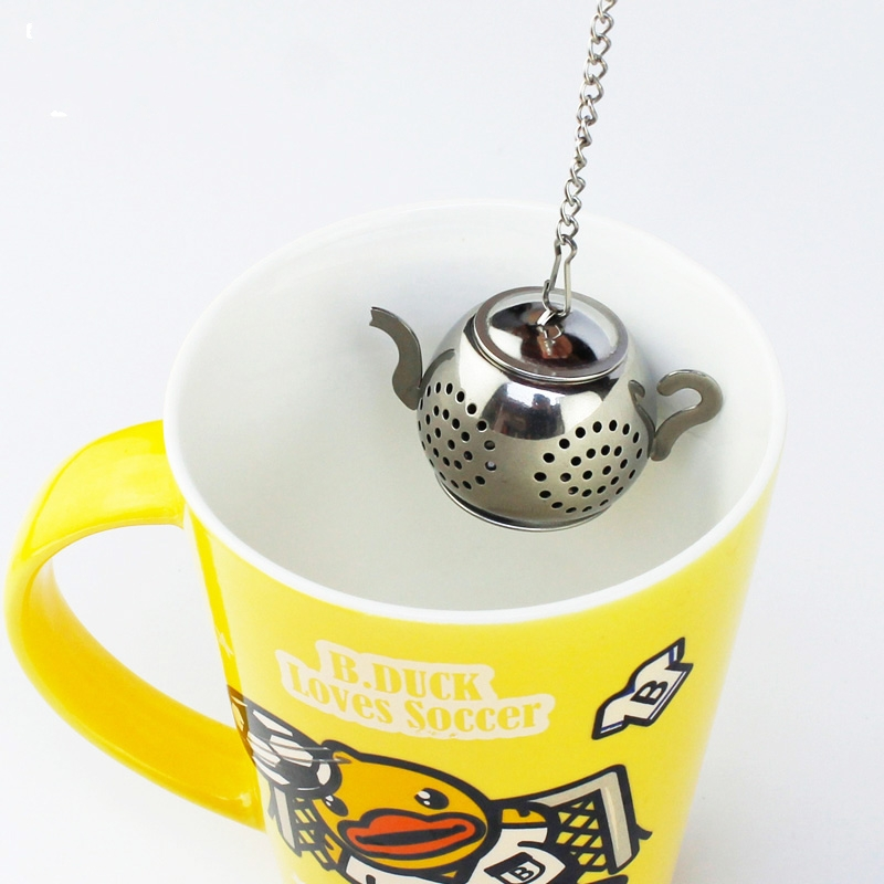 Stainless Steel Tea Infusers Coffee Leak Candy Coffee Strainers Artifact Cute Tea Ball Filter