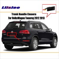 Liislee dla VW VolksWagen Touareg 2012 2013 kamera cofania/kamera parkowania/HD CCD RCA NTST PAL/uchwyt bagażnika OEM|trunk handle|hd ccdcamera parking hd -