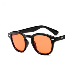 Magic Adventure Johnny Depp Glasses Pirates of the Caribbean Tinted Glasses Men Sun Glasses Male Retro Red Sunglasses for Men