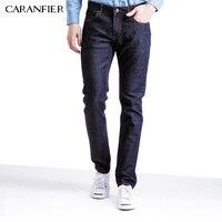 CARANFIER 2017 New Jeans Men Cotton Elastic Fashion Casual Denim Pants For Men Slim Fit Skinny