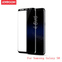 Joyroom Tempered Glass For Samsung Galaxy S8 Screen Protector Full Cover Curved Film High Quality 0