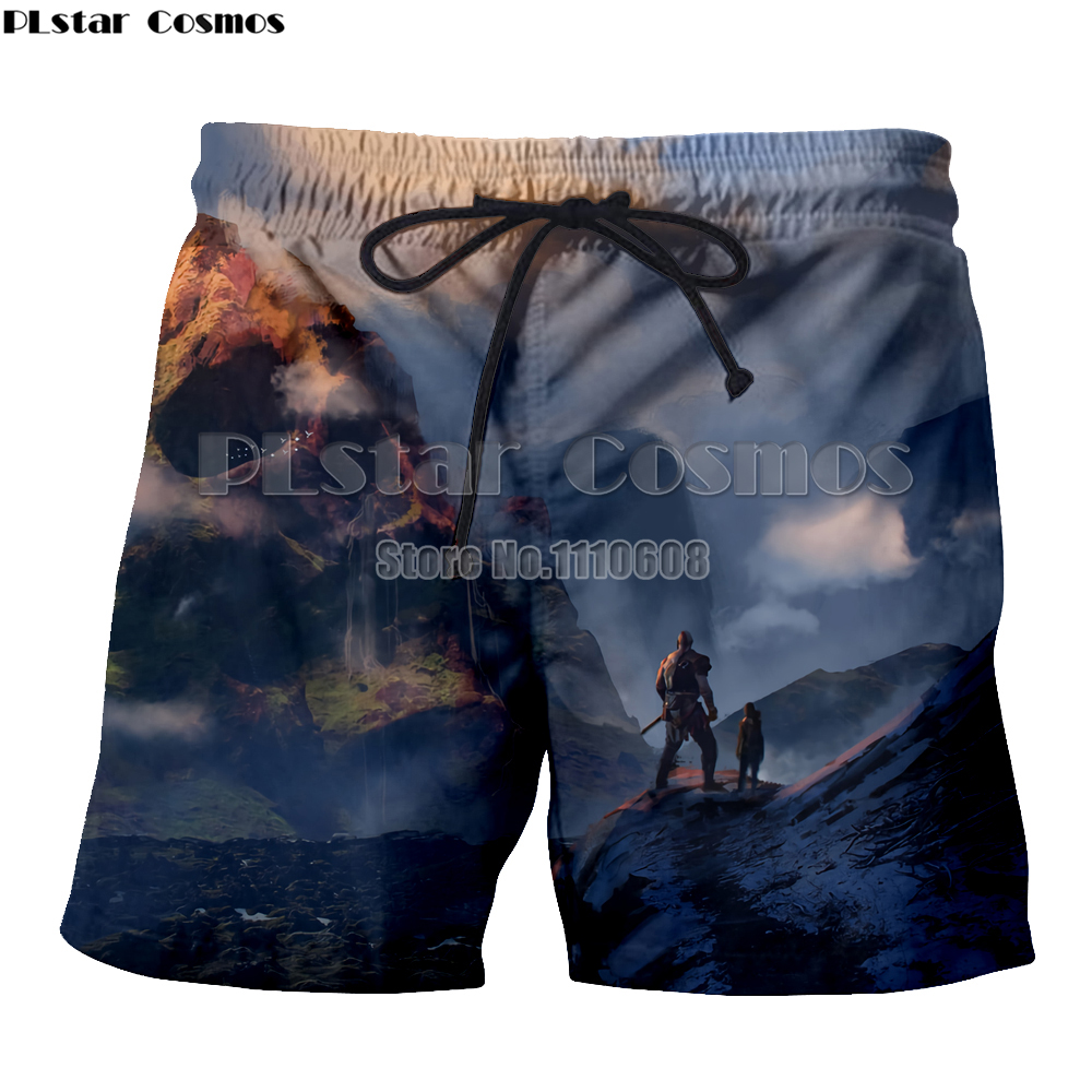 Have An Inquiring Mind Yx Girl Mens Hipster Summer Quick Dry Beach Board Boxer Shorts Trunks 2018 3d God Of War Printed Boardshorts Men's Clothing