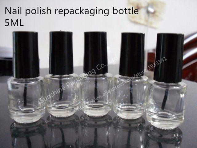 Tienda Online 10 unids/lote 5 ML botellas de botella vacías del ...