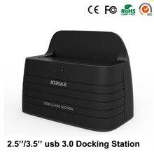 """1 Bahía de 2.5 """"3.5″ muelle de sata USB 3.0 hdd case SATA para ssd hdd hasta 6 TB hdd 3.0 hdd docking estación"""