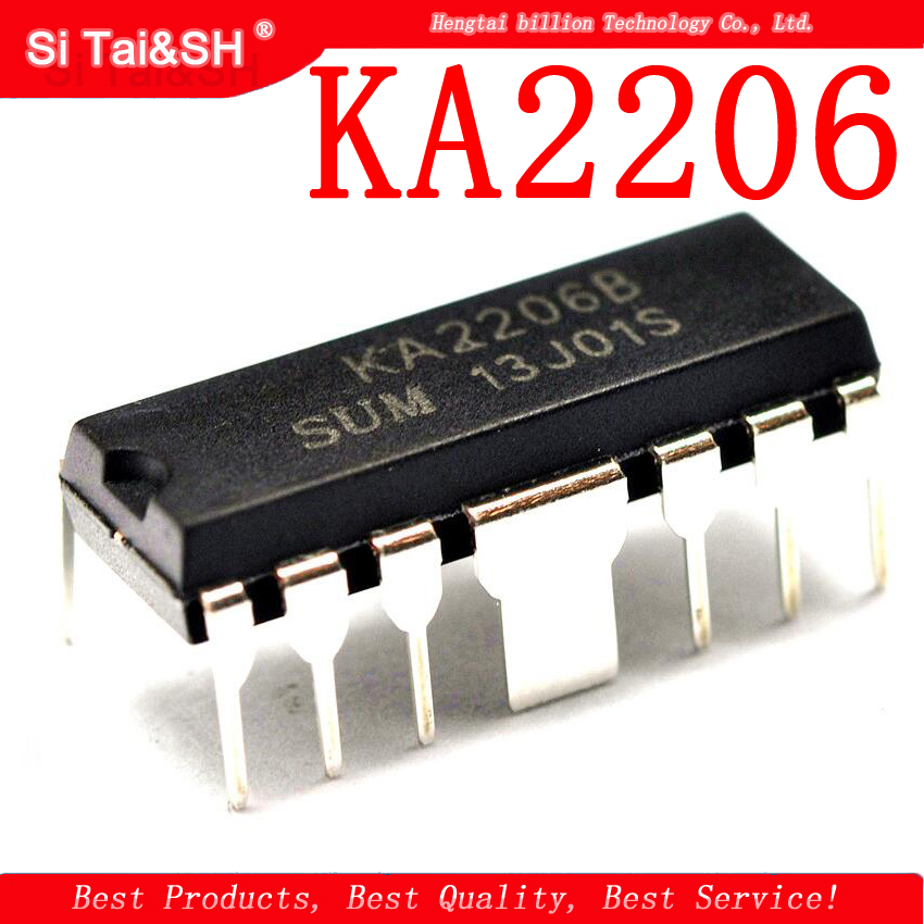 5PCS KA2206 DIP12 KA2206B DIP New And Original IC