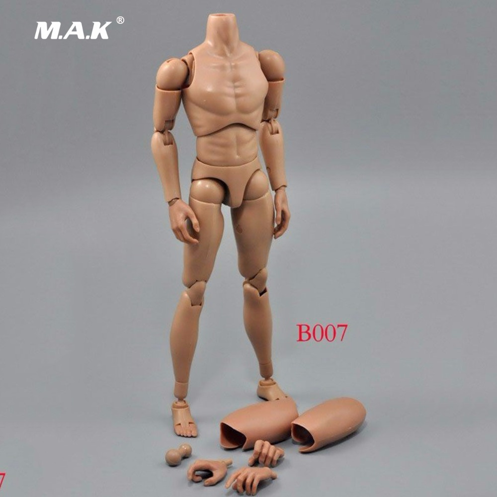 Male Narrow Shoulder Muscle Man 1/6 Scale Action Figure Body Model Toys ZY-Toy B007 Kids Model Gifts   Collections 1 6 scale full set male action figure kmf037 john wick retired killer keanu reeves figure model toys for gift collections
