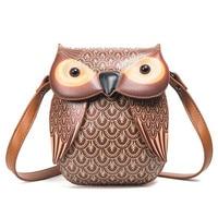 2018 New Ideas Cartoon Mini Women Bag Cute Owl Crossbody Bags Lady'S Purse Tote Bag Shoulder bolsa feminina Evening Party