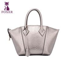 FOXER BRAND Women Lady Handbag Shoulder Bags Tote Purse Leather Messenger Hobo Bag