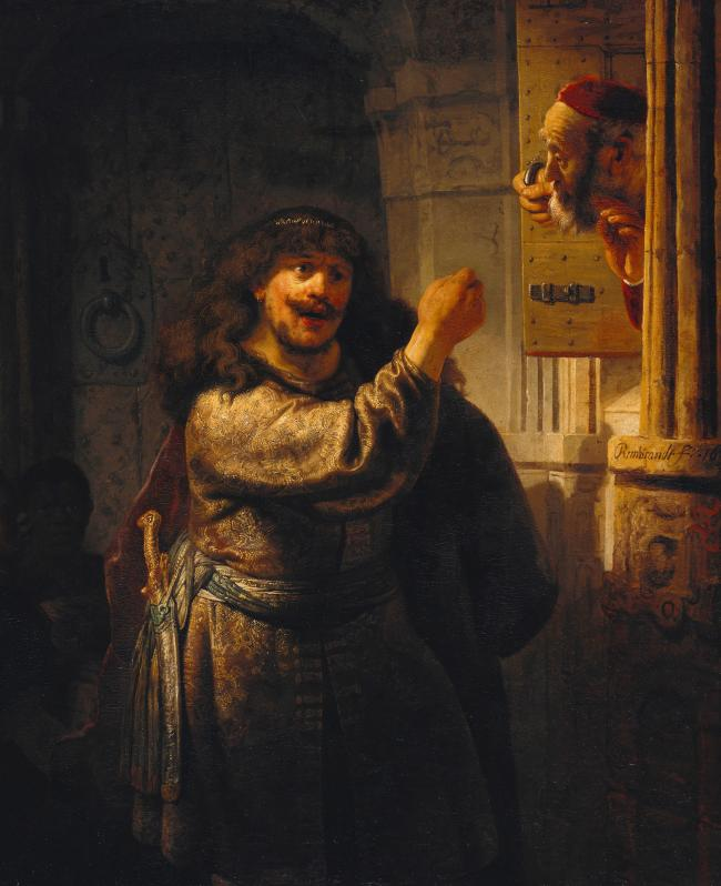 wholesale painting # TOP art Rembrandt Harmenszoon van Rijn replica OIL painting ON CANVAS FREE SHIPPING 30