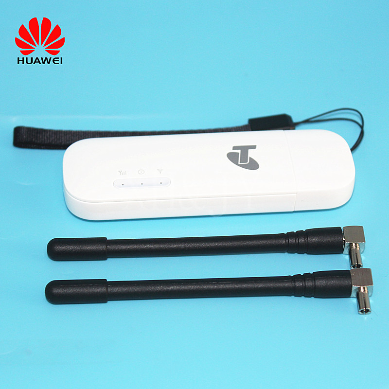Unlocked Laptop Huawei E8372 E8372h-608 with Antenna 4G LTE 150Mbps WiFi USB Dongle