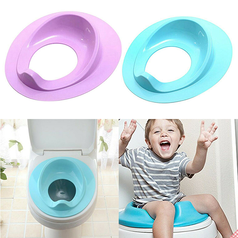 Toddler Kids Toilet Seat  Baby Plastic Bathroom Potty Training Seat Cover