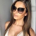 Новые Cat Eye Солнцезащитные Очки Женщины Марка Модельер Cateye Солнцезащитные Очки Для Женщин UV400 Óculos de sol