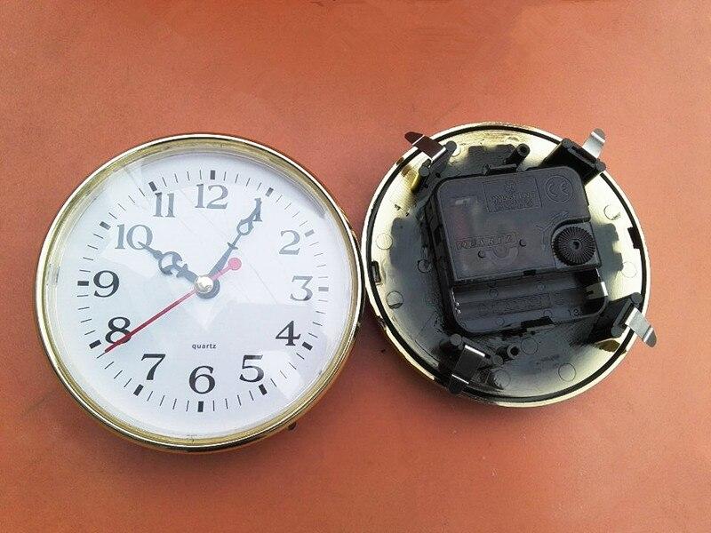 5PCS 110mm Insert Clock Clock Head DIY Desk Built   in Clock Quartz Clock Mechanism-in Clock Parts & Accessories from Home & Garden    3
