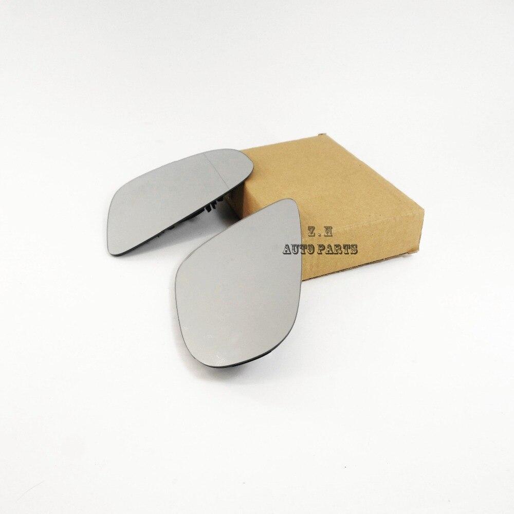 NEW Left & Right Side Wing Mirror Glass w/ Heat 5K0857521/522 For VW Touran Golf GTI 6 MK6 MKVI 09 13 5K0 857 522 /521 A/B/D/E