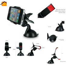 Universal Car Styling Windshield Mount Stand Mobile Phone Holder For iPhone 4 5 5s 6 6s Plus For Samsung Smartphone GPS