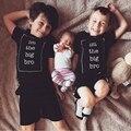 2017 Nueva Camiseta Del Muchacho verano de los cabritos algodón letra impresa camiseta para niños niñas niños camisetas para niños ropa de verano tees estilo SC025