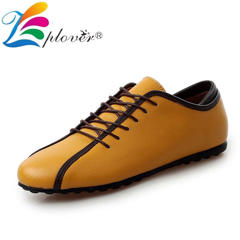 2018 New Men's Casual Leather Shoes Men Luxury Brand Moccasins Men Shoes Blue White Sneakers Men Flats Comfortable Footwear Hot
