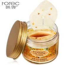 80 pcs/ bottle HANCHAN Gold Osmanthus eye mask Nourish Moisturizing Gentle skin