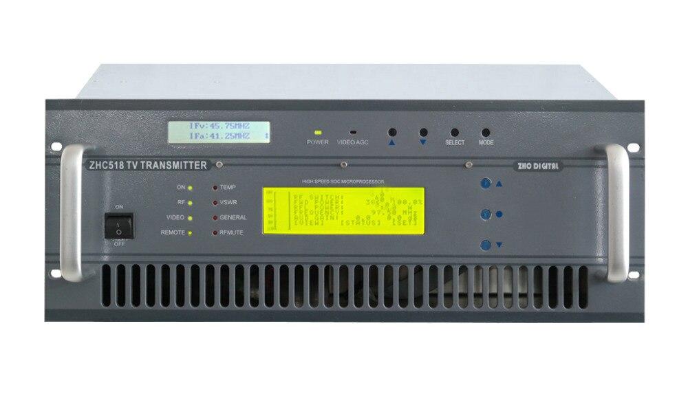CZH518A-200W VHF UHF все твердотельные беспроводные аналоговые ТВ сигнал вещания передатчик ТВ станции Вещательное оборудование