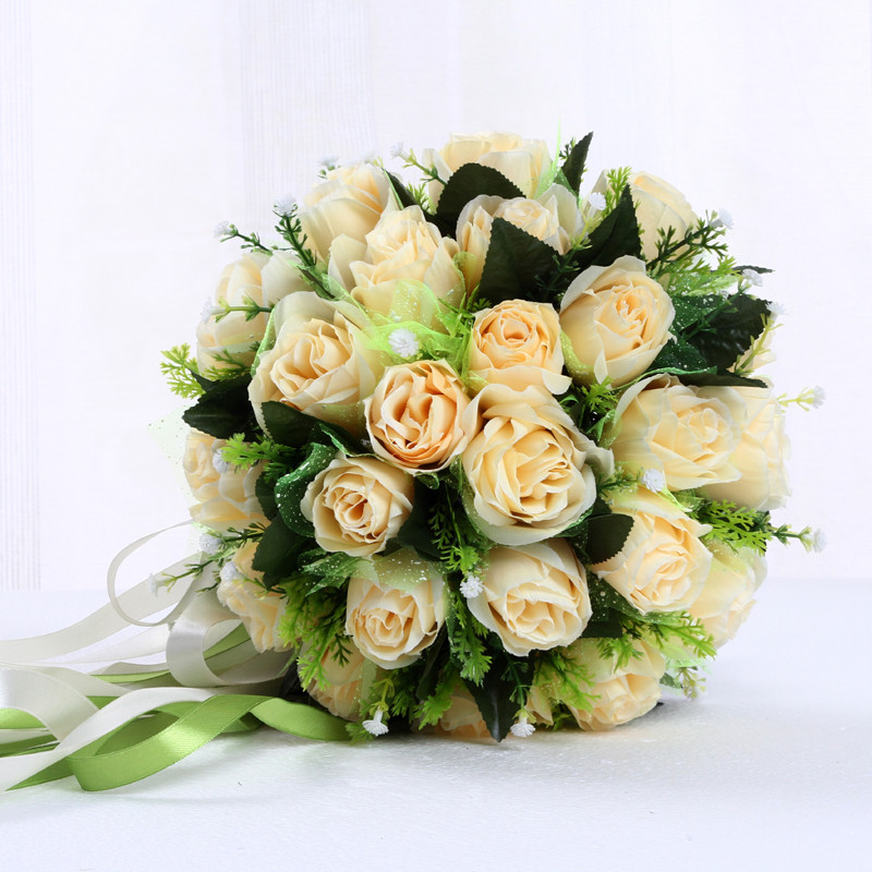 Crystal Bouquet Wedding Wedding Flowers Flower Bouquet Bridal Flowers Buque De Noiva Roxo Trouw Boeket 0226A