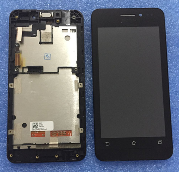LCD screen display+ Touch Digitizer with frame For 4.5'' Asus ZenFone 4.5 A450CG black color Free shipping