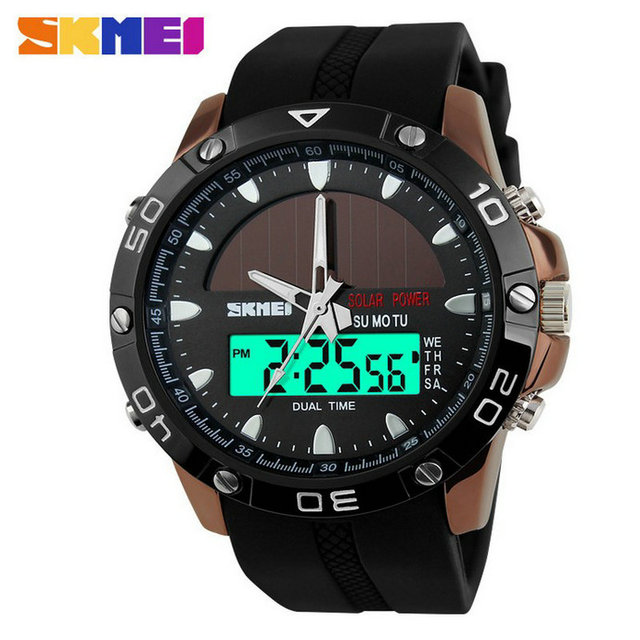 skmei solar watches men sports watches made in China prices
