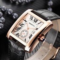 Модные брендовые квадратные женские часы римские цифры серебряные кварцевые часы из нержавеющей стали женские часы для влюбленных Ретро п...