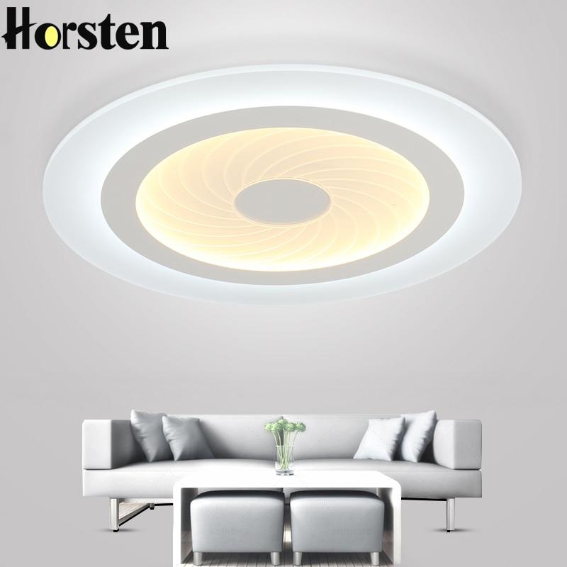 Horsten Modern LED Ceiling Lights Acrylic Round Swirl Pattern Living Room Lamp Dia 40/ 50/ 60/ 78cm LED Ceiling Lamp For Bedroom : 91lifestyle