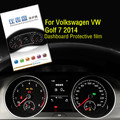 High Quilaty Dedicated Car Automobile HD 4H Instrument Screen Protector For Volkswagen VW Golf 7 2014 Dashboard Protective Film