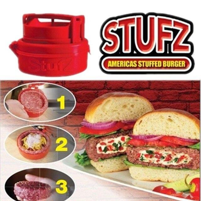 2015  A1000 Creative hamburger pressed box  Kitchen hand-make food machine hand-made tool wholesales freeshipping