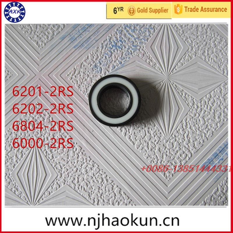 Free shipping 1pcs 6201-2RS 6202-2RS 6804-2RS 6000-2RS full SI3N4 ceramic deep groove ball bearing free shipping 6804 2rs 61804 2rs full si3n4 ceramic deep groove ball bearing 20x32x7mm