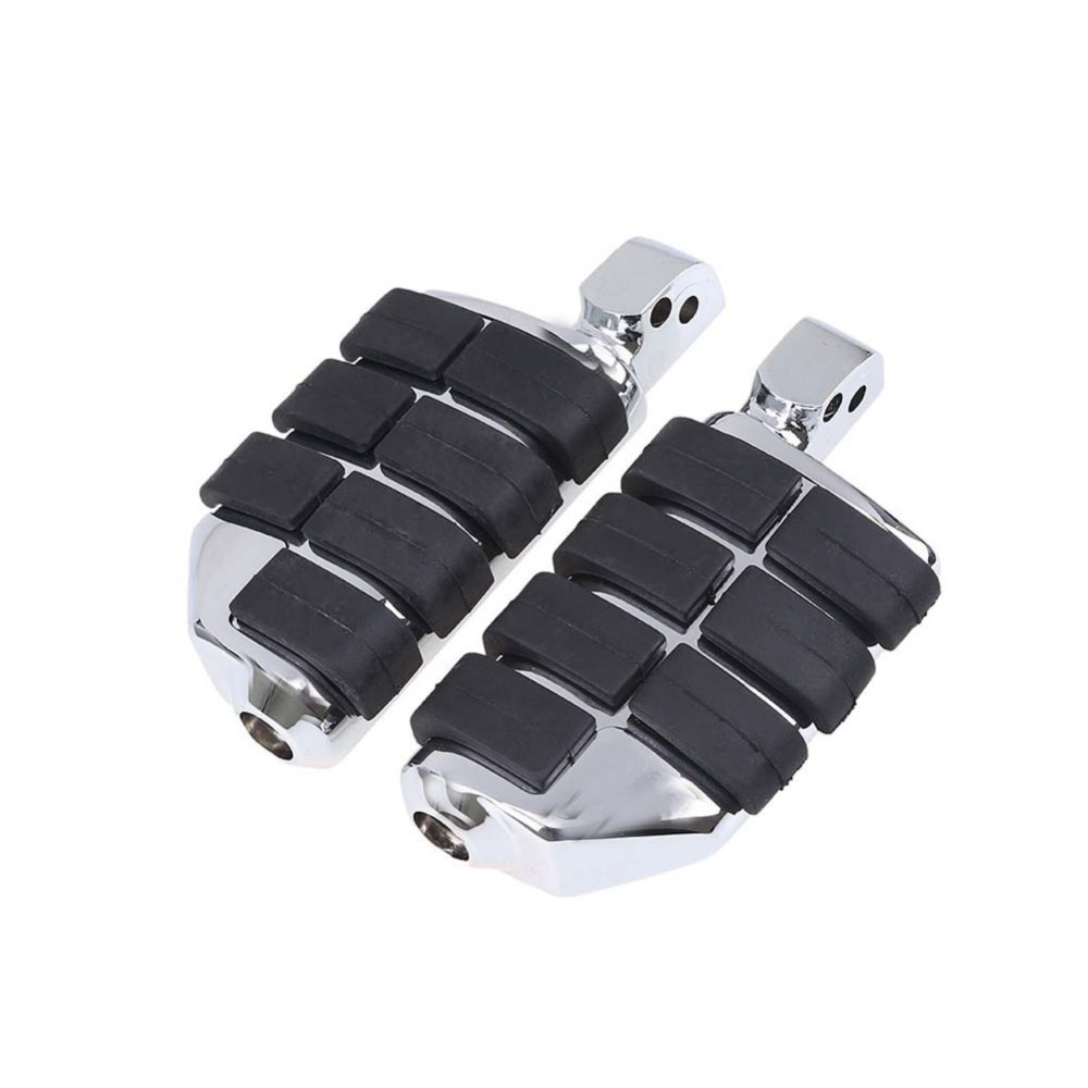 Motorcycle Chrome Front Rear Passenger Foot Pegs FootRests Footpegs For HARLEY Honda Shadow 1100 Spirit ACE 750 Aero 750 chrome black motorcycle footpeg footrests case for harley all models with diameter 10mm foot pegs