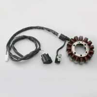 Motorcycle Magneto Stator Coil for Yamaha ATV YFM700 Grizzly 700 2007 2014 YFM550 Grizzly 550 2009 2010 2011 2012 2013 2014