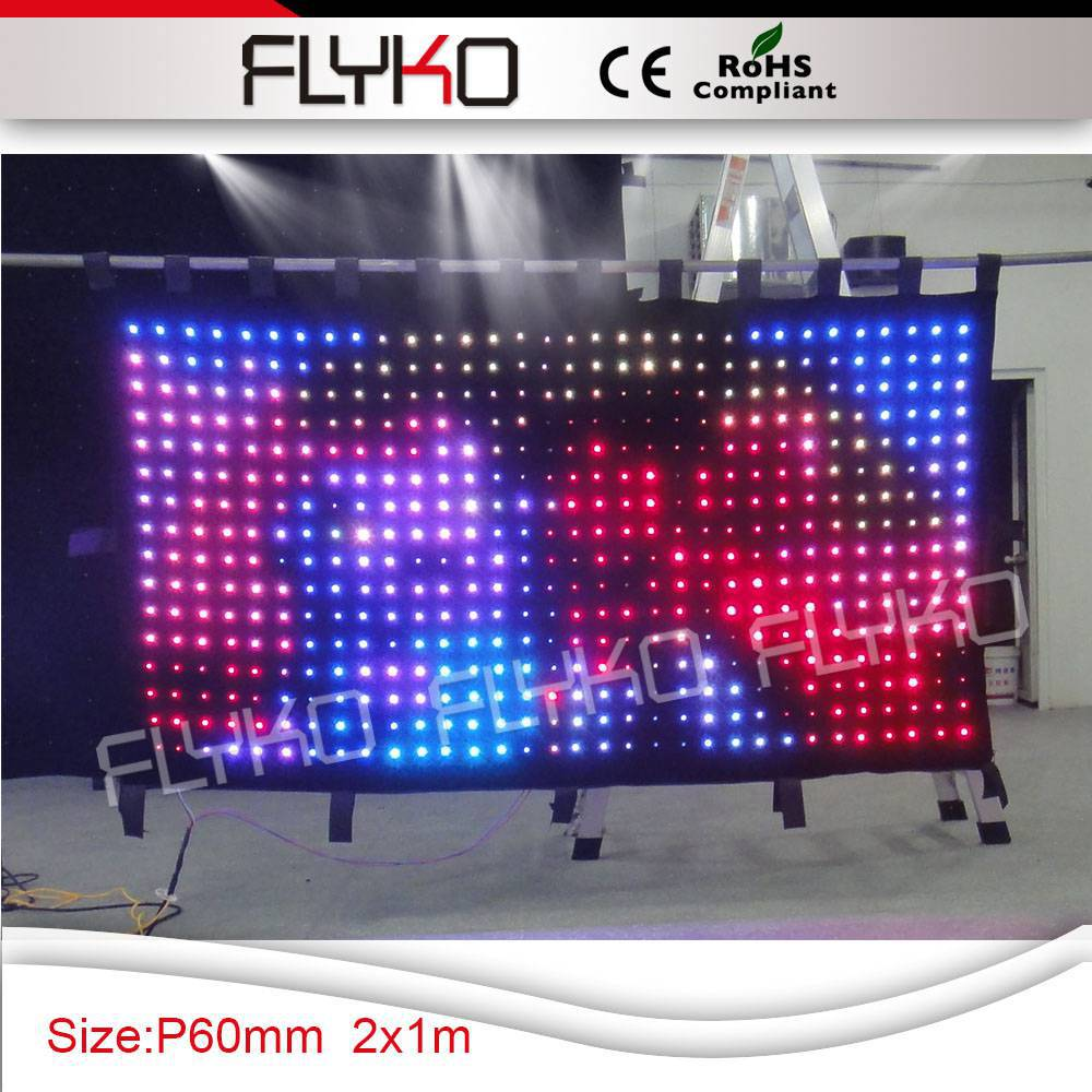 Free Shipping Led Shower Curtain Video In Stage Lighting Effect From Lights On Aliexpress