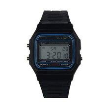 Модные мужские часы, светодиодный, брендовые, Роскошные, новинка, Силиконовый каучуковый ремешок, Ретро стиль, винтажные цифровые часы для мальчиков и девочек, мужские спортивные наручные часы