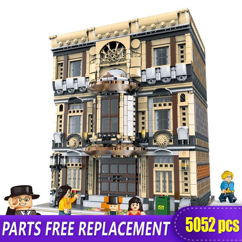 XingBao 01005 5052 pièces véritable série créative MOC City le musée Maritime ensemble enfants blocs de construction briques jouets modèle cadeaux