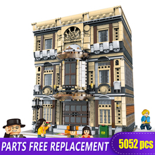 все цены на XingBao 01005 5052Pcs Genuine Creative MOC City Series The Maritime Museum Set Children Building Blocks Bricks Toys Model Gifts онлайн