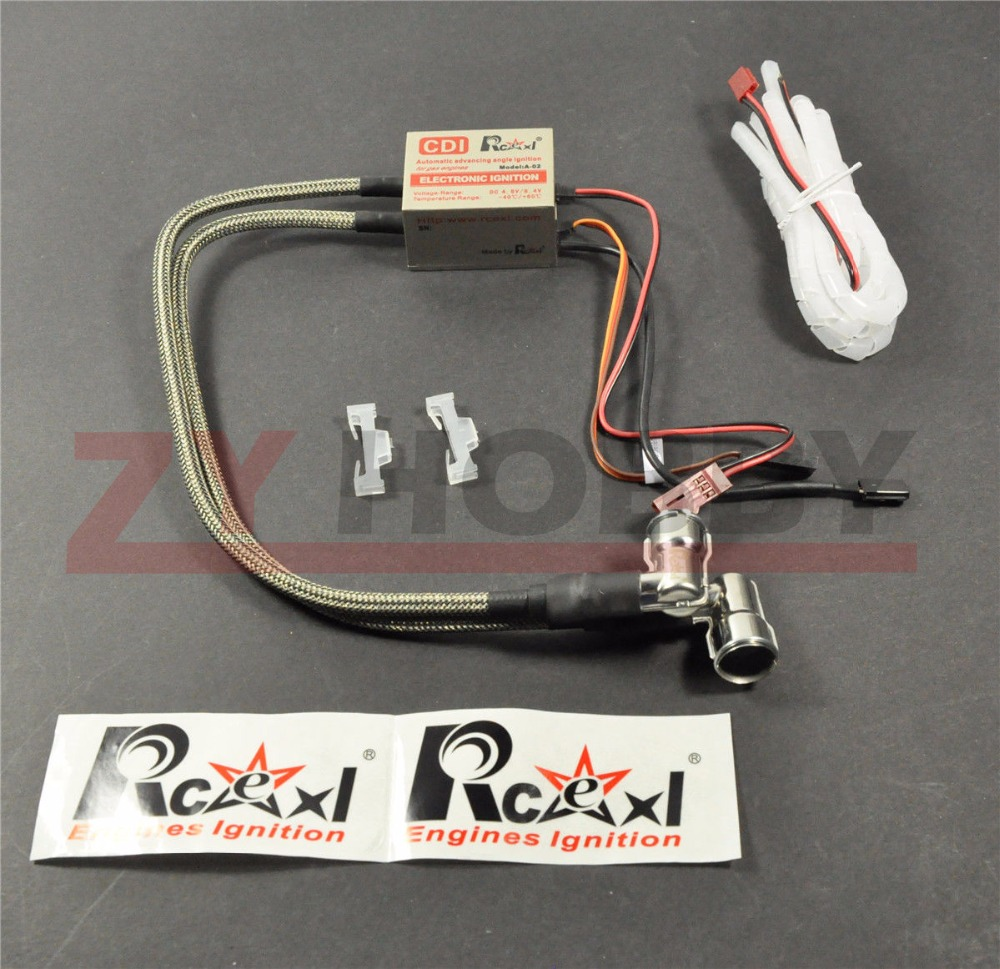 ФОТО CM6 Spark 10MM 90degree Electronic Twin Ignition with Hall sensor for Engine