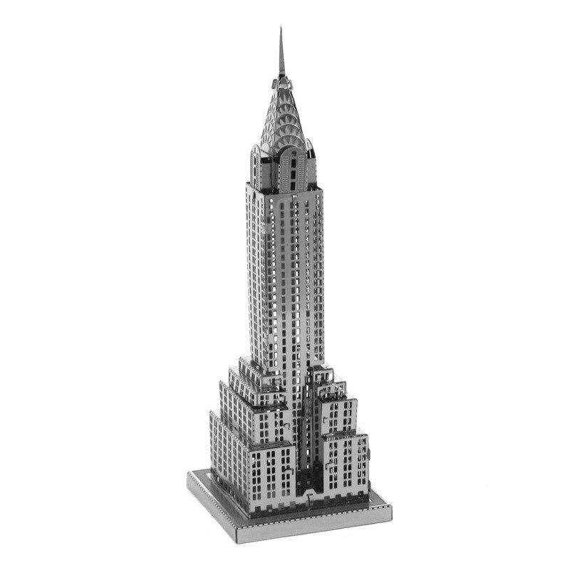 Chrysler Building Model Metal