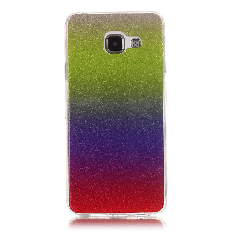 For Samsung Galaxy A5 2016 Case Shiny Slim Tpu Back Mobile Phone Cases for Samsung A5 2016 A510 A510 A5100 SM510M Cover Holder