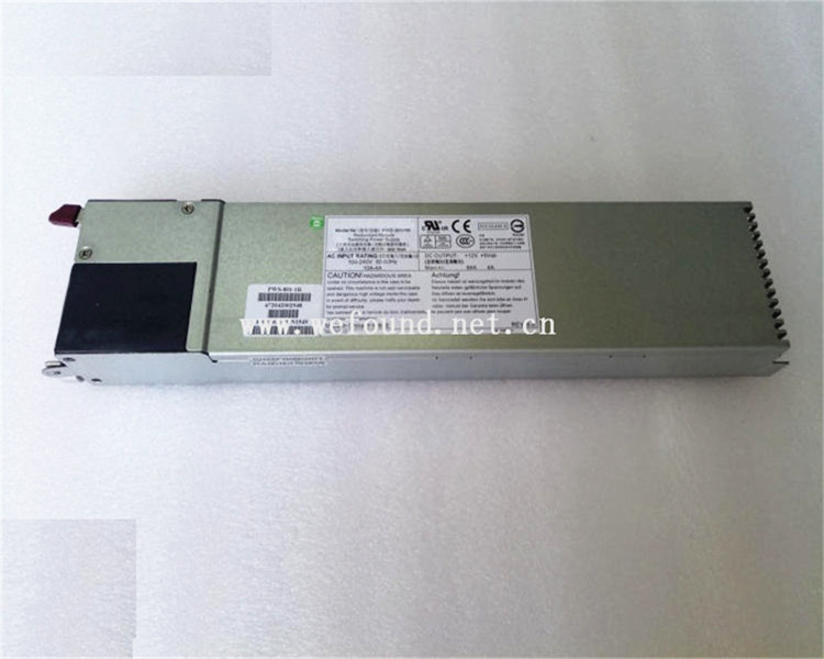 100% working power supply For PWS-801-1R 800W Fully tested powe r supply for pws 0050 m sp382 ts 380w tested working good